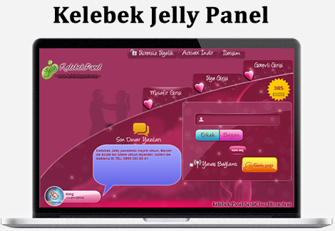 Kelebek Jelly Panel Demo